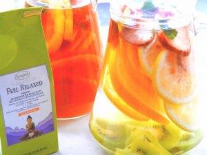 画像2: フィールリラックス 【ロンネフェルト】 デトックス専用茶 ルイボスにオレンジ果汁の甘み 大人から子供まで大人気のハーブ茶です デトックスフルーツティー作りに最適!