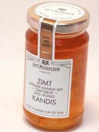 シナモンの香りが素敵ツィムト キャンディス(シナモン ハチミツ メープルシロップ漬け白色氷砂糖)ミヒャエルセン ドイツ