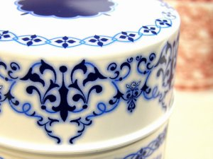 画像2: 素敵な保存CAN(缶)デュールブルー