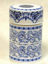 素敵な保存CAN(缶)デュールブルー