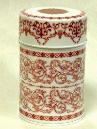 素敵な保存CAN(缶)デュールレッド