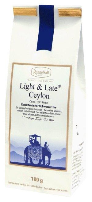 画像3: ライト&レイト セイロン  (カフェインレス) 【ロンネフェルト】 カフェインは入ってません 寝る前も安心