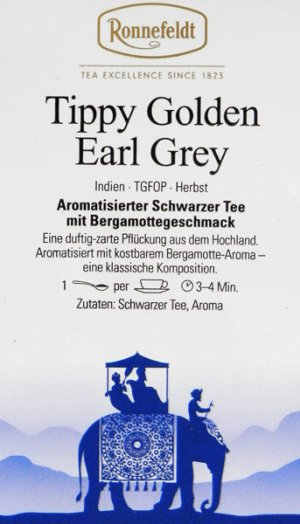 画像2: ティッピーゴールデンアールグレイ(旧名ゴールデンダージリンアールグレイ)【ロンネフェルト】ホテルでも大人気のアールグレイ 品良く香ります