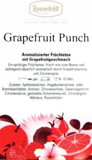 画像2: グレープフルーツパンチ 【ロンネフェルト】 マイルドなグレープフルーツの酸味と各種ドライフルーツの甘みがベストマッチ