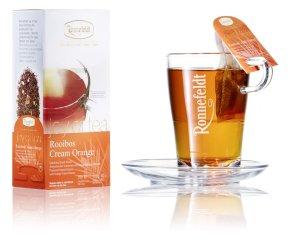 画像2: 【ロンネフェルト】ジョイオブティー クリームオレンジ箱入り 15本  ルイボス茶にオレンジピールの入った人気No1のティー