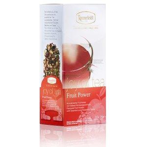 画像1: 【ロンネフェルト】ジョイオブティー フルーツパワー箱入り 15本 爽やかな酸味とフルーツの甘み 色が赤くきれいです