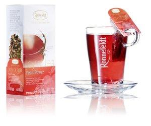 画像2: 【ロンネフェルト】ジョイオブティー フルーツパワー 1本 爽やかな酸味とフルーツの甘み 色が赤くきれいです