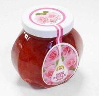 ブルガリアが生んだ バラの香りが素晴らしい ダマスクローズペタルジャム(バラの花びらジャム)230g
