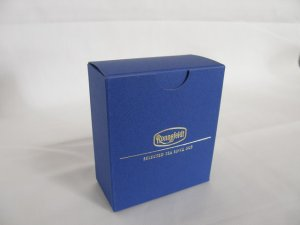 画像1: 【ロンネフェルト】ティーべロップ用箱 ブルー